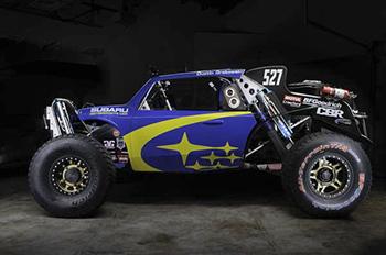 Новый Subaru Crosstrek Desert Racer одержал первую победу