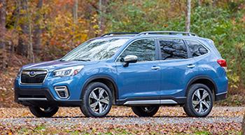 Subaru Forester признан лучшим автомобилем для покупки в 2019 году