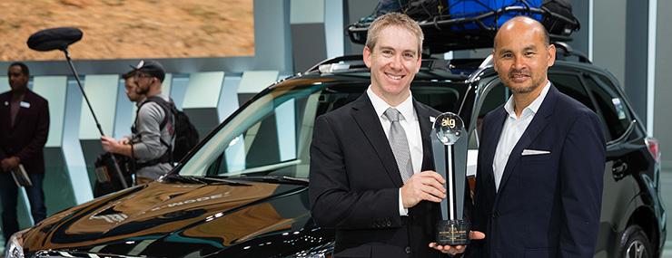 Американское подразделение Subaru получило 6 наград ALG