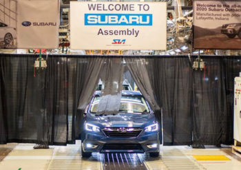 В США  начато производство новых Subaru Legacy и Subaru Outback