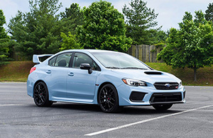 Специальная серия Subaru WRX и WRX STI