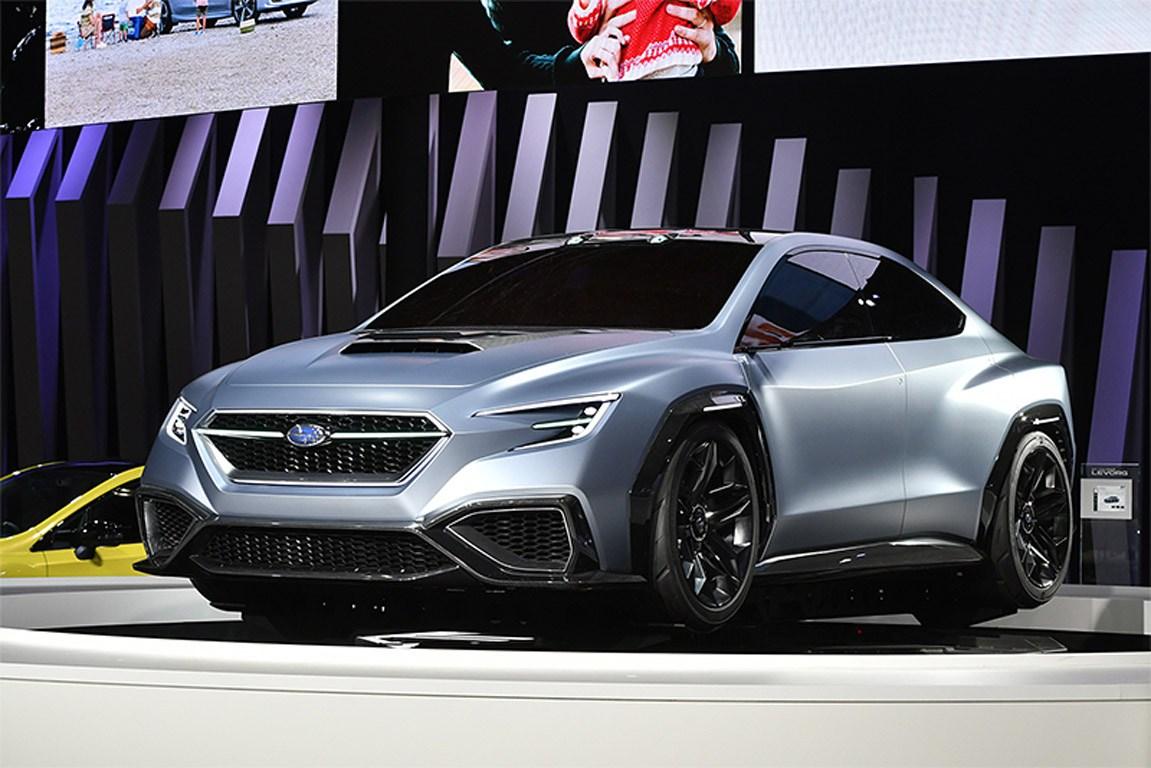 Состоялась премьера концепт-кара Subaru VIZIV Performance