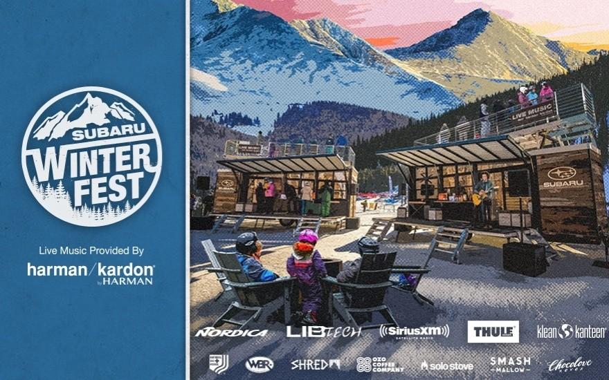 В США проходит зимний фестиваль Subaru