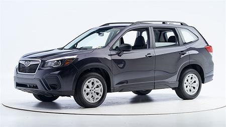 Subaru Forester - самый безопасный автомобиль для пешеходов