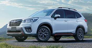 В Японии выходит домашняя версия Subaru Forester