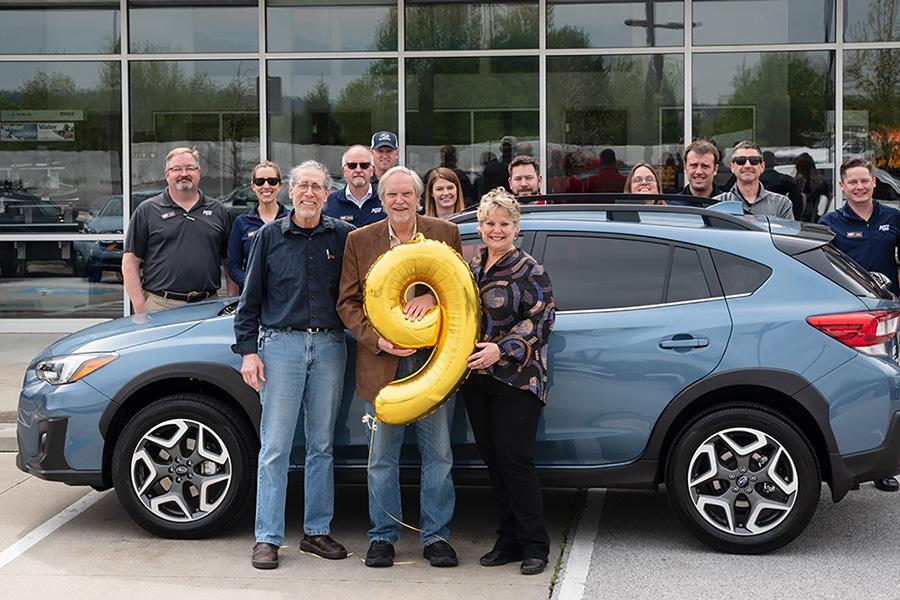 В Северной Америке продан 9-миллионный Subaru