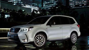 Subaru выпустит ограниченную серию Forester tS