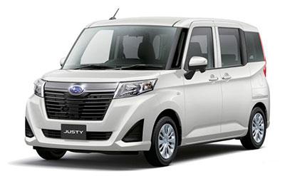 Subaru Justy – новый компактный минивэн