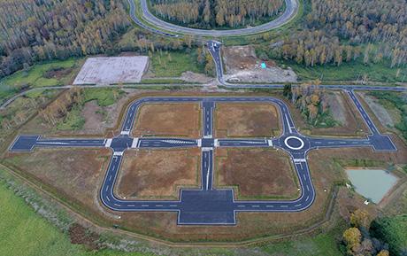 Построены новые треки для испытания автомобилей Subaru