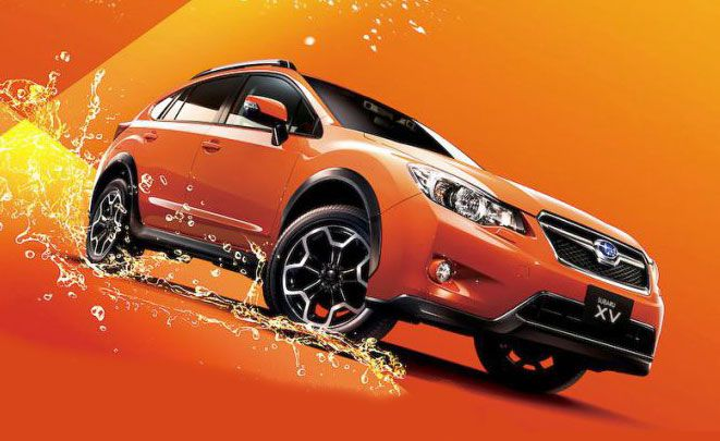 Pop Star - новая модификация Subaru XV