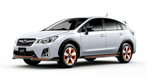 В Японии выходит новый Subaru XV Hybrid tS