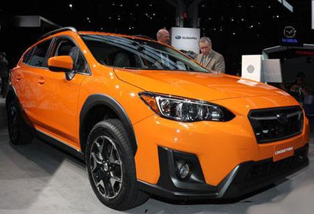 Состоялась премьера американской версии Subaru Crosstrek
