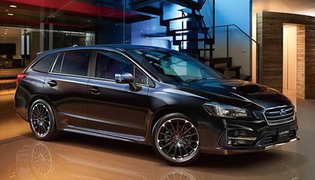 Обновленный Subaru Levorg для японского рынка