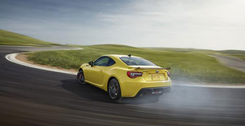 Subaru выпустит лимитированную желтую серию BRZ