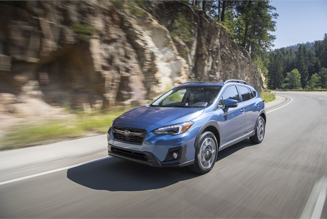 Subaru Crosstrek и Subaru WRX получили рейтинг Top Safety Pick+