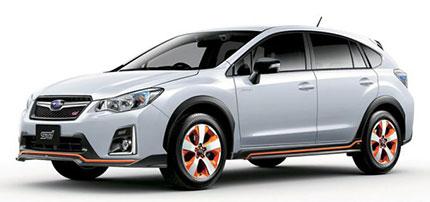 В Японии в октябре начинаюся продажи версии Subaru XV Hybrid oт STI