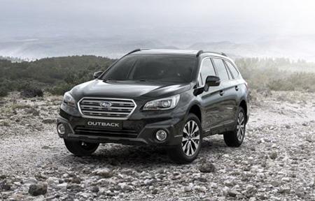 Black and Ivory – специальная версия Subaru Outback