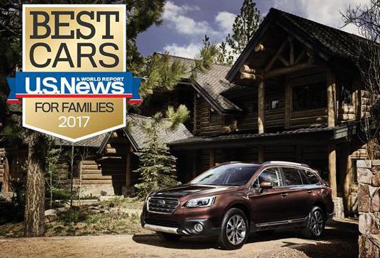Subaru Outback признан в США лучшим семейным универсалом