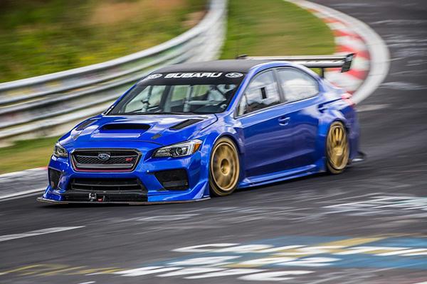 Subaru опубликовала видео о рекордном заезде WRX STI Type RA NBR Special в Нюрбургринге