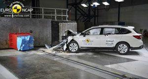 Новый Subaru Outback получил высшую оценку  Euro NCAP за безопасность