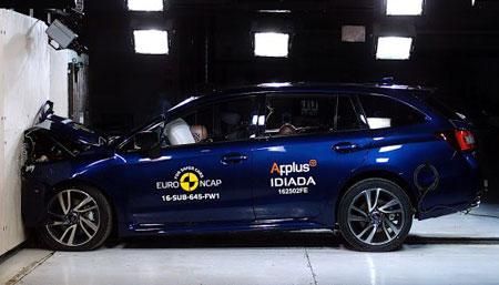 Subaru Levorg присвоен высший рейтинг безопасности
