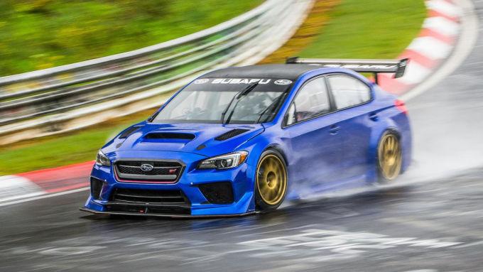 Subaru установил рекорд круга в Нюрбургринге для седанов