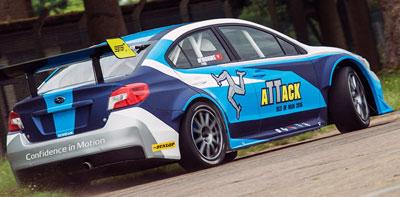 Автомобиль Subaru WRX STI Time Attack car установил новый рекорд острова Мэн