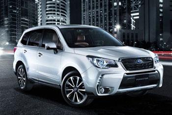 Новая модификация Subaru Forester для японского рынка
